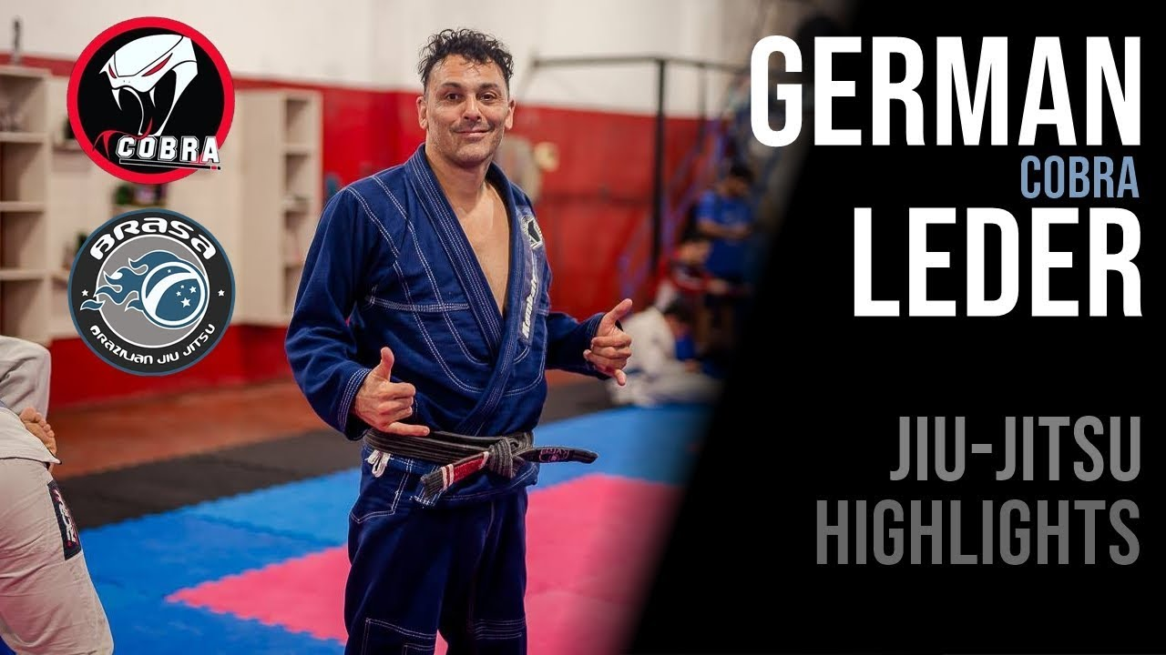 "GERMAN ""COBRA"" LEDER - BJJ HIGHLIGHTS"