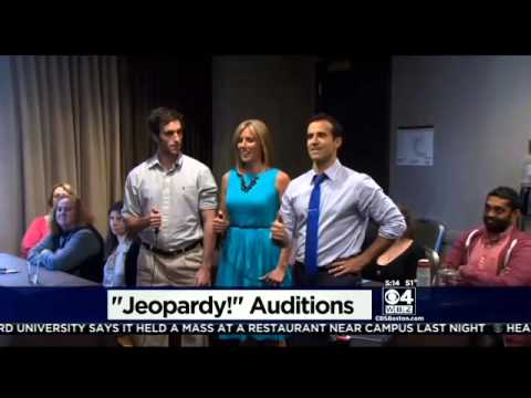 WBZ-TV's David Wade & Kate Merrill Audition For 'Jeopardy' In Boston