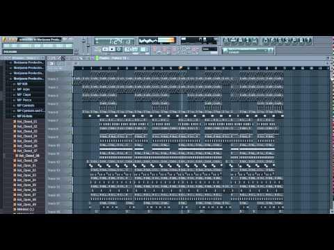 Trap Beat TUTORIAL + DRUM KIT/FLP DOWNLOAD - FL Studio Tutorial Free FLP