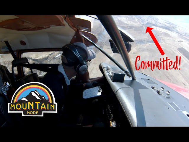 MOUNTAIN Flight log #1- COMMITTED!