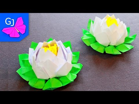0 - Як зробити з серветки квітка лотоса?