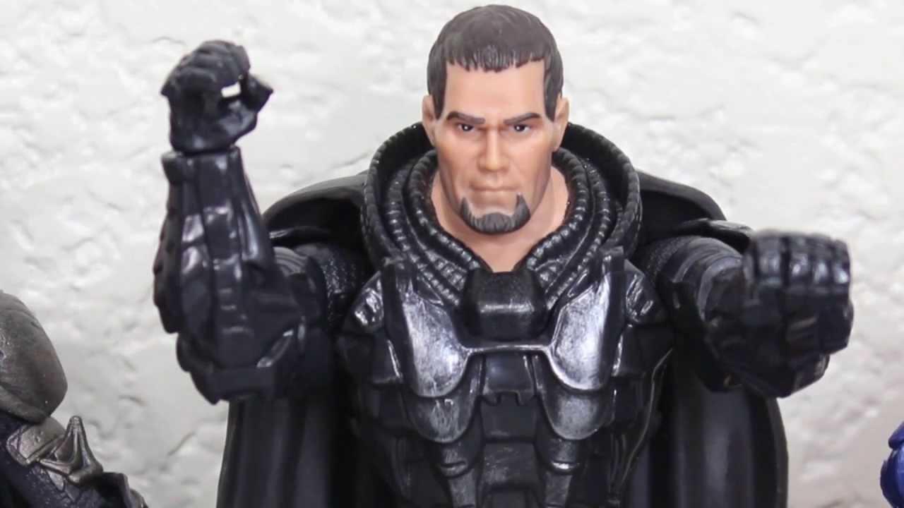 Superman Man of Steel Movie Masters General Zod in Shackles Action Figure
