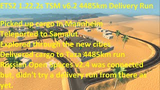 Hello. Please Click On 'Show More' For Video Description. Thanks.  (If any of this information has changed or new information is available, please let me know and I will update this video description. Thanks).  ETS2 1.22.2s TSM v6.2 http://trucksim-map.co