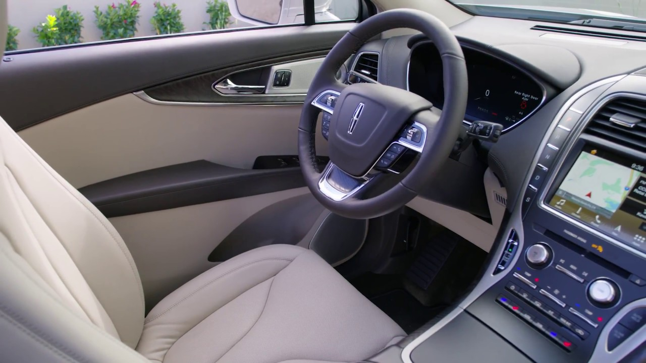 New Lincoln Nautilus Running & Interior Footage - YouTube