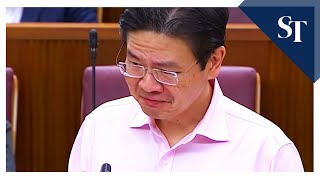 Minister Lawrence Wong's Emotional Thanks To Frontline Workers Fighting Covid 19 In Singapore