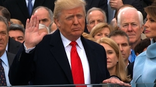 Donald J. Trump Sworn in as 45th US President