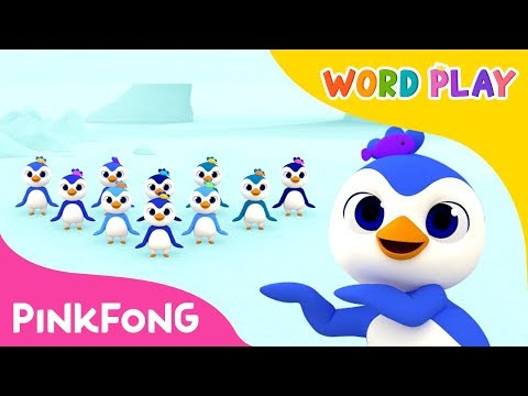 1 to 10 Penguins  Word Play  Pinkfong Songs for Children