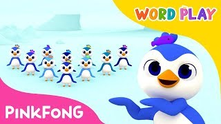 1 to 10 Penguins | Word Play | Pinkfong Songs for Children