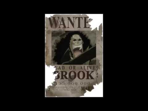 One Piece - Wanted Posters 2014