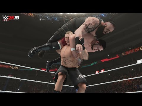 wwe 2k19 All Double Finisher