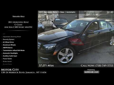 Used 2011 Mercedes-Benz C-Class | Motor City, Jamaica , NY - SOLD