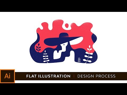 Adobe Illustrator CC Tutorial: How To Create A Flat Illustration + Free Download