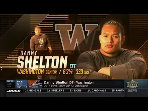 2015 NFL Draft Rd 1 Pk 12 | Cleveland Browns Select DT Danny Shelton