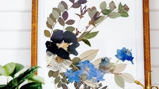 How to Make Pressed Flowers | Sunset