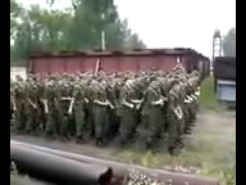 """прикол в армии """"песня про мишку"""""""