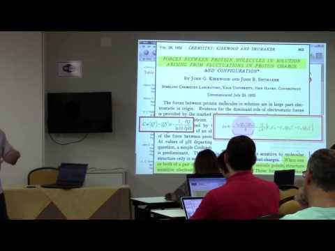 Electrostatic interactions - Prof. Fernando Barroso (University of São Paulo)