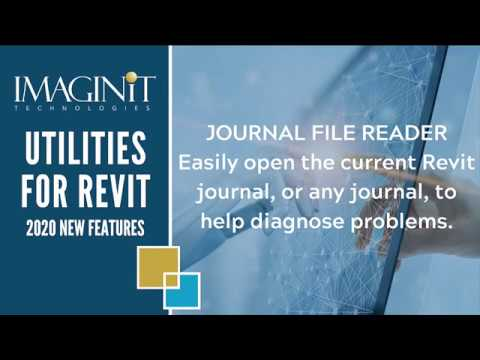 Utilities for Revit Journal Reader