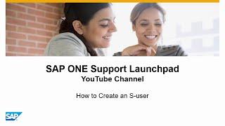 So erstellen Sie einen S-user - SAP ONE Support Launchpad