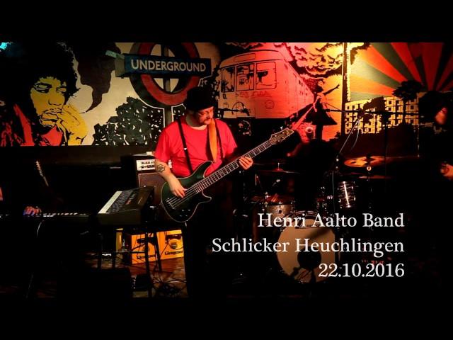 H.A.B - Henri Aalto Band : I wanna play LIVE in Germany