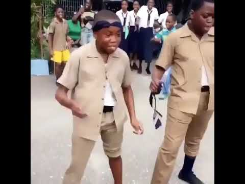 Fling yuh shoulder -badest jamaican kid!