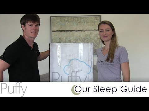 Puffy Mattress Unboxing & Preview - Puffy Bed Review