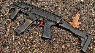 hb industries theta aluminum trigger shoe cz scorpion evo 3 s1 review install