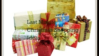 Last Minute Christmas Shopping Ideas- On A Budget Thumbnail