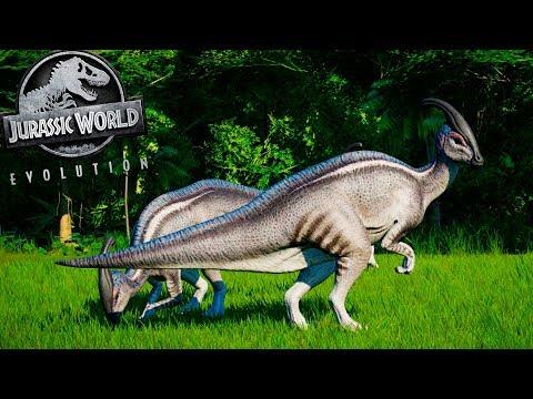 SAFARI DOS DINOSSAUROS #22 | Manada De Parasaurolophus, Vale Encantado | Jurassic W Evolution |PT/BR