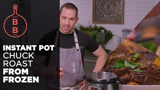 Instant Pot Chuck Roast from Frozen