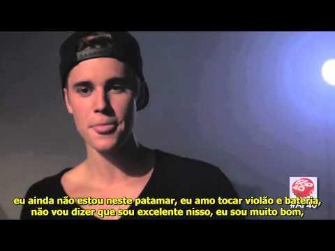 LEGENDADO: Justin Bieber concede entrevista para Asia Pop 40