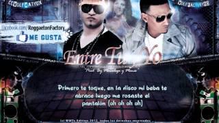 Farruko Ft. Delirious - Algo Entre Tu y Yo con Letra ★New Romantic Reggaeton 2012★