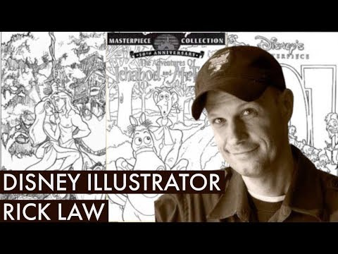 Disney Podcast - DISNEY ILLUSTRATOR RICK LAW - Dizney Coast to Coast - Ep. 555
