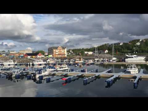 Olderhamna båthavn og fiskerihavn på Finnsnes