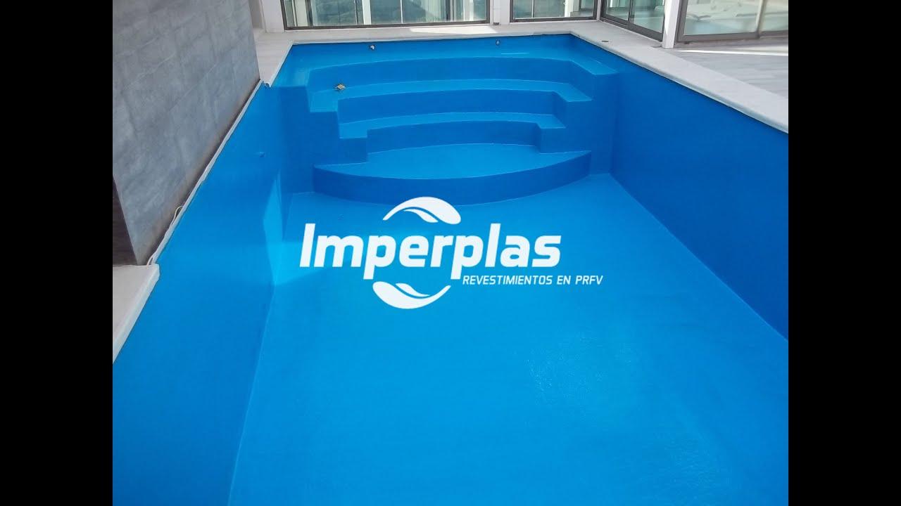 Reforma y plastificado de piscina imperplas argentina for Piscinas de fibra de vidrio