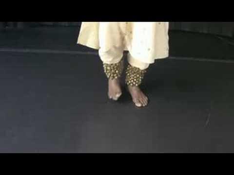 Kathak Dance : Kathak Dance Footwork