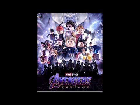 Avengers Endgame Movie In Lego