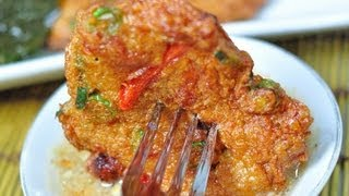 [thai Food] Thai Fish Cake (tod Mun Pla Gry)