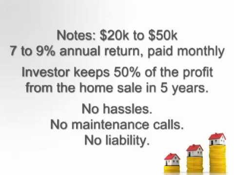 Cash Flowing Notes with massive equity