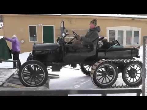 2015 Model T Ford Snowmobile Meet