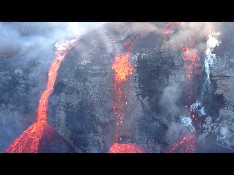 Lava Falls Eyjafjallajökull