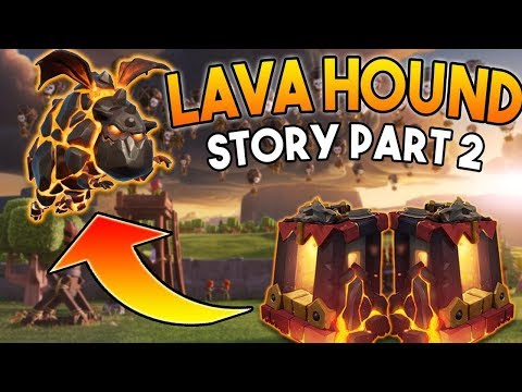 The Origin of the Lava Hound [Part 2] | How was the Lava Hound Created? Clash Royale Animation
