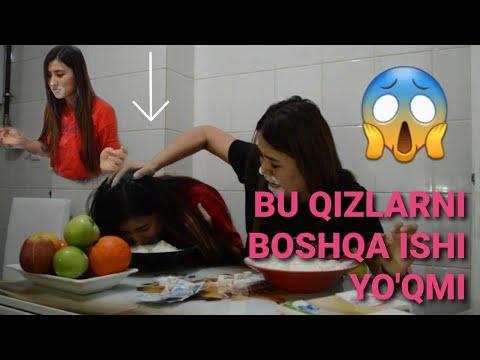 Uzbek Qizlari Turkiyeda Urushdi / Çılgın kızlar