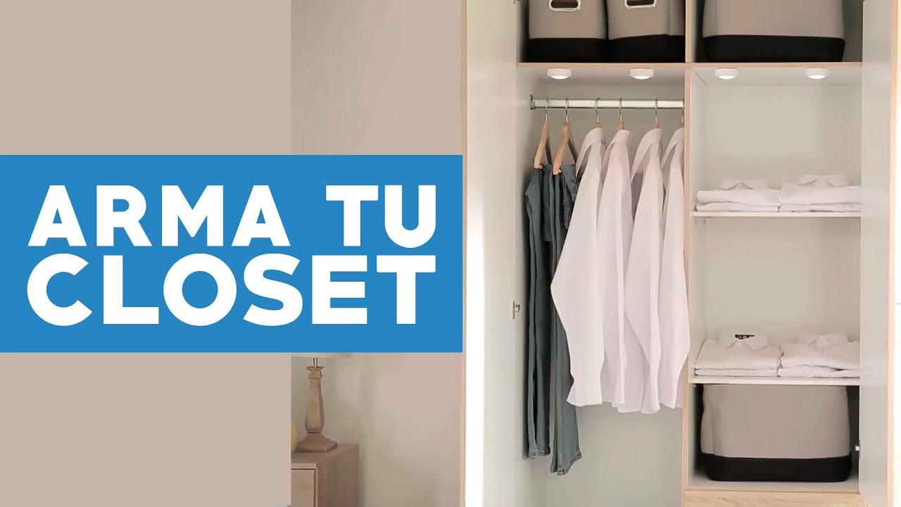 Cómo Armar Un Closet Youtube