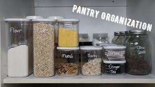 Small Pantry Organisation | Small Cupboard Organisation | Mbali Chitsika | South African YouTuber
