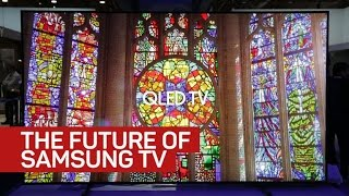 this is what your next samsung tv may look like