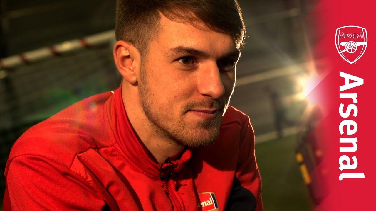 34e8c9fe12d Arsenal Ink  Aaron Ramsey - YouTube