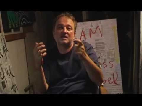 L'artiste Denis Robert en parle (de l'artiste et de Denis Robert et de pourquoi)