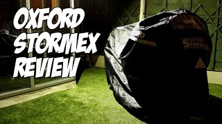 Oxford Stormex Motorcycle Cover Review