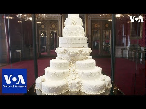 Prince Harry and Meghan Markle's wedding cake
