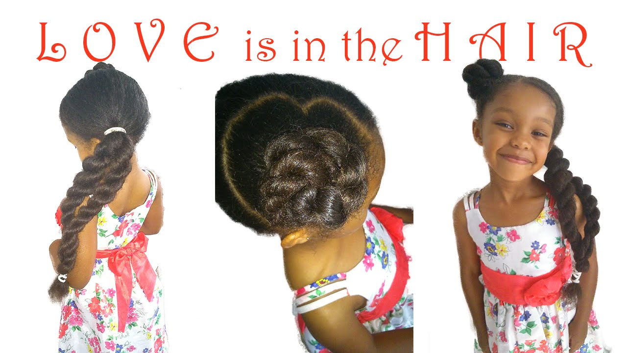 Image result for natural hair valentine's day